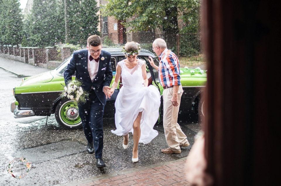ślub w klimacie leśnym Grudziądz Leśniczówka