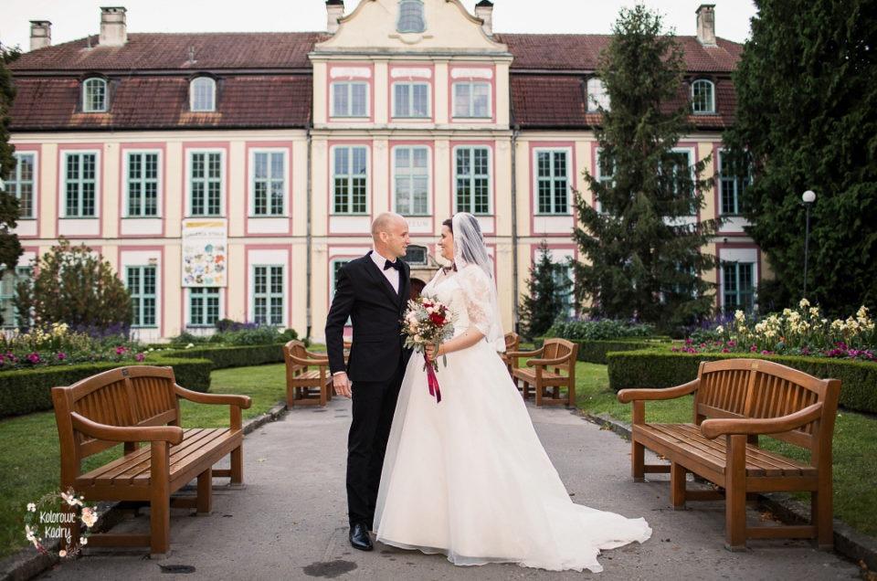 polsko-niemiecki ślub w Pałacu Opatów w Oliwie