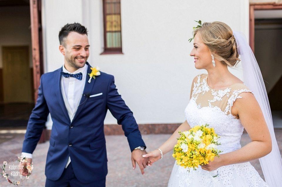 Polsko – włoskie wesele w Iłowie