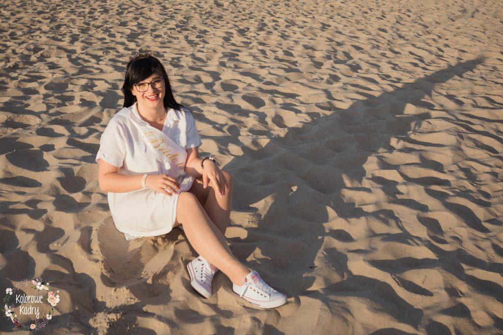 wieczór panieński na plaży