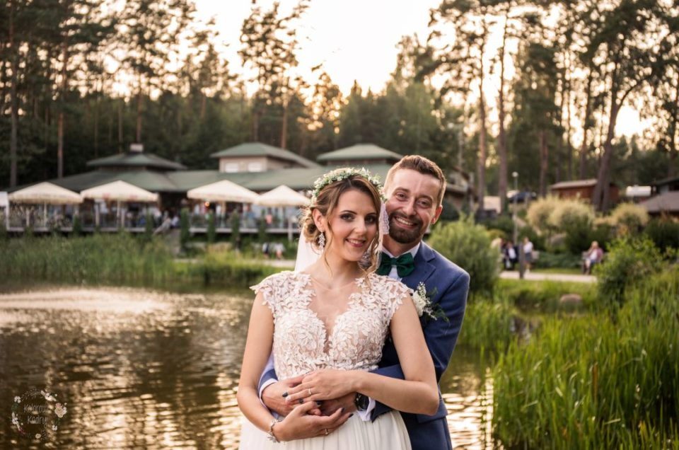 Beautiful rustic wedding in a country of forests and lakes