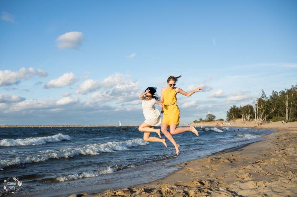 Sesja przyjaciółek na plaży | Wieczór panieński